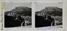 MONACO Palais STEREO Plaque de verre positive 7x15cm, 1904