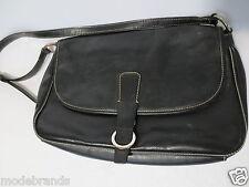 Trend Handtasche ESPRIT Schultertasche Umhängetasche Leder-IMITAT schwarz /W37
