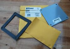 "Rittal Electromate E44WP Wireduct Closure Plate 4"" Lot of 2 - NEW"