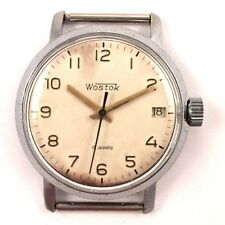 Vintage Soviet Vostok WindUp watch Classic Dial Cal 2214 70s *US SELLER* #1112