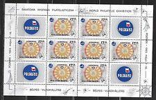Hungary - 1993 World Philatelic Exhibition - Complete Mini-Sheet Mint