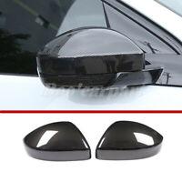 Für Range Rover Velar ABS Karbonfaser-Stil Spiegelkappen Außenspiegel Rahmen