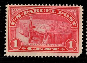 Q1 Parcel Post United States mint  well centered