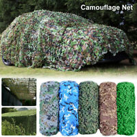 5/6M Hunting Camping Woodlands Blinds Military Camouflage Camo Net Netting Mesh