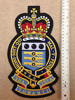 Royal Army Ordnance Corps Large Embroidered Biker Patch