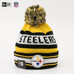 New Era Cap NFL Pittsburgh Steelers Winter Bommel Mütze Beanie Team Jake SALE