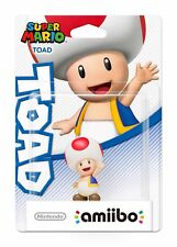 Amiibo Super Mario Collection Character Toad W4 Wii U - Brand New Sealed