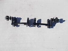 Pair of 1000# Torsion half axles w 22 UP Start angle Trailer Lower Deck Camper