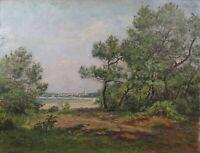 Jean Georges Pasquet (1851-1936) View st. George de Didonne Charente Crozant