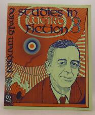 Studies in Weird Fiction 3 - Donald Wandrei - S. T. Joshi - Necronomicon Press