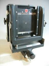 Black Calumet 4 X 5 Monorail View Camera W/Revolving Back & Front & Rear Rise