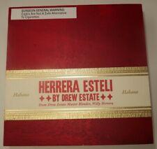 New ListingDrew Estate Herrera Esteli Cigar Box, Empty Box, 7.25in x 7.25in x 2.5in