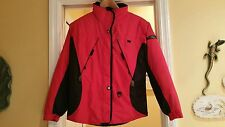 Obermeyer Girls Size 18 Red/Black Ski Jacket