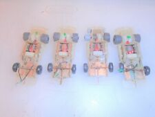 TYCO TCR SLOTLESS HO SCALE CHASSIS PARTS LOT (H)