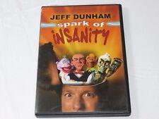 Jeff Dunham - Spark of Insanity DVD 2007 Comedy NR Peanut Jose Jalapeno