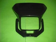 Yamaha DT125X DT125RE DT Lampenmaske Scheinwerfer Maske Verkleidung schwarz