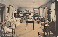 E34/ Clermontville Ohio Postcard 1910 Clermont County Vacation House Interior