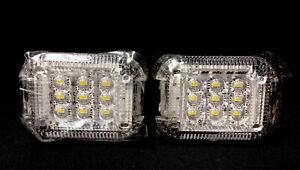 Pack Of 2 Cargo Van OEM Interior 9 LED Light 2015-2021 Ford Transit 250 350