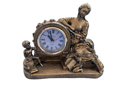 Rovada Mantle Clock Gold Finish