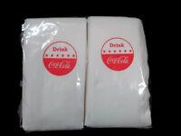 Coca-Cola Drink Coca-Cola Disc Logo Sign Dispenser Napkins (100 Count)