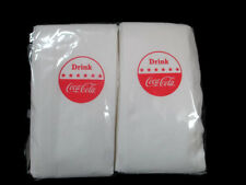 Coca-Cola Drink Coca-Cola Disc Logo Sign Dispenser Napkins (100 Count)