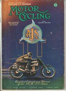 TT Races 1950,Senior & Junior,Lightweight Results,Geoff Duke,Motor Cycling 1950
