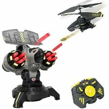 Air Hogs Battle Tracker R/C Disc Firing Helicopter +Bonus Ammo NEW NIB Exclusive