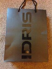 Superdry Idris Elba Paper Carrier Bag. Valentine Gift