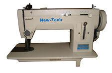 NEW-TECH Portable Walking Foot Long Arm Zig Zag & straight sewing Machine 110 V,