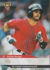 2016 El Paso Chihuahuas Carlos Asuaje RC Rookie Padres