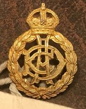 A mint British Army Dental Corps officers gilt washed collar badge - PATTERN
