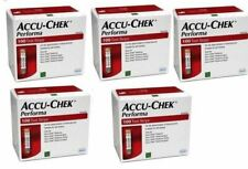 5 x ACCU CHECK PERFORMA NANO KIT OF/500 STRIPS FOR CHECK THE BLOOD SUGAR