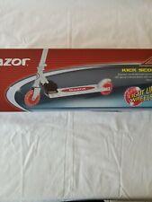 Razor Easy Fold Kick Scooter W/Led Light Up Wheels, Rear Fender Brake Brand New!