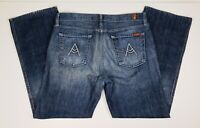 7 For All Mankind A Pkt Relaxed Mens Jeans Size 34