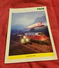 Trix Katalog Prospekt Neuheiten 2001 112  Seiten neuwertig