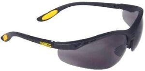 New Dewalt Mens DeWalt Reinforcer Rubber Safety Glasses  FREE DELIVERY