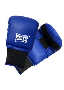 FIRE FLY Taekwondo Gloves TKD Men Martial Arts Sparring MMA Taekwondo Glove Blue