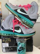 Size 9 - Nike LeBron 9 P.S. Elite 'South Beach' 2012