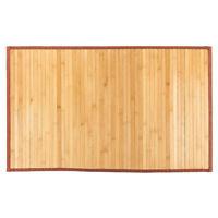 "21""*34""  Bamboo Floor Mat Natural Non-sliding Waterproof Bathrooms Kitchen mat"