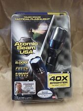 ATOMIC BEAN USA 40X BRIGHTER BY CREE LEDS FLASHLIGHT 5,000 LUX 015694