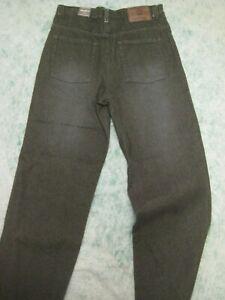NWT EDDIE BAUER boys jeans denim pants SZ 16  L Dark Brown W29 x 31 $37 School