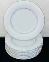 "8 China Pearl *EMERALD* 10 1/4"" DINNER PLATES*"