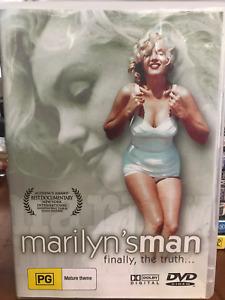 MARILYN'S MAN MARILYN MONROE  AWSEOME DOCO RARE AS NEW REG ALL DVD