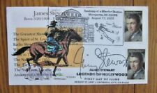ACTOR JAMES STEWART PETOSKEY CACHET 2007 DUAL UNOFFICIAL CANCELS FDC