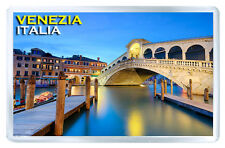 VENEZIA ITALIA PONTE DI RIALTO FRIDGE MAGNET SOUVENIR IMAN NEVERA