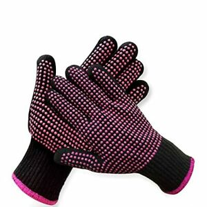 2 Pcs Professional Heat Resistant Glove for Hair Styling for Curling