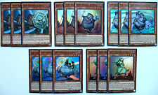 YUGIOH 15 CARD DJINN DECK CORE SET ALL SUPER RARE