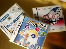 Mechanic Master Big Word Puzzle Brain Chellenge Nintendo DS Lite DSi 3DS PAL