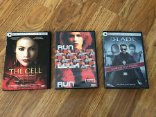 3 Movies On Dvd-The Cell Platinum Series, Run Lola Run & Blade Trinity Unrated