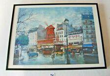 T1 Litho couleur - Georges B - Paris - Le Moulin Rouge